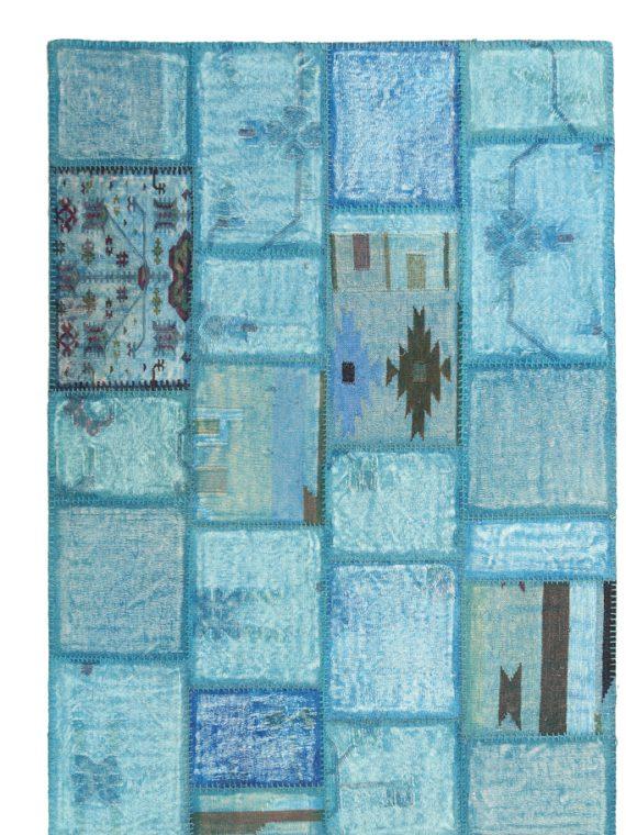 Μοντέρνο χειροποίητο χαλί patchwork