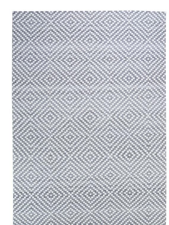 Μοντέρνο χειροποίητο κιλίμι από φυτικό μετάξι(bamboo silk)